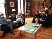 Durante la misión comercial de la Cámara de Comercio de Málaga a Chile fuimos recibidos por nuestro Embajador
